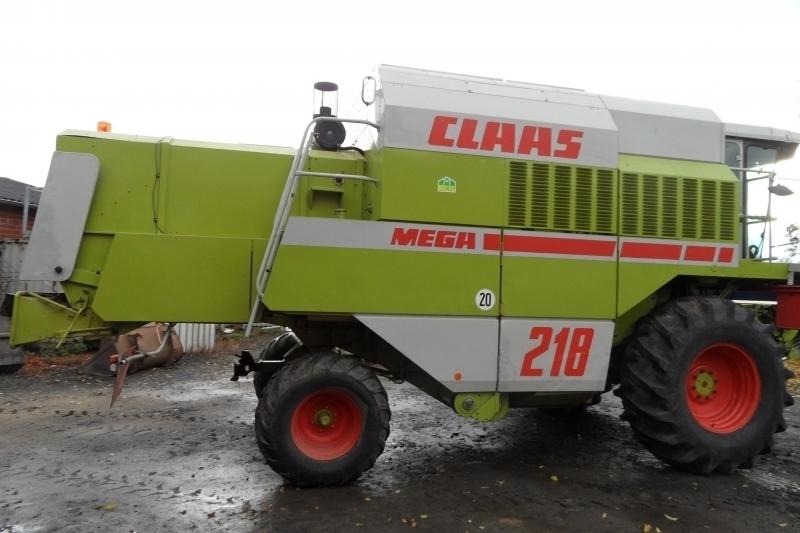 Комбайн Claas Mega 218