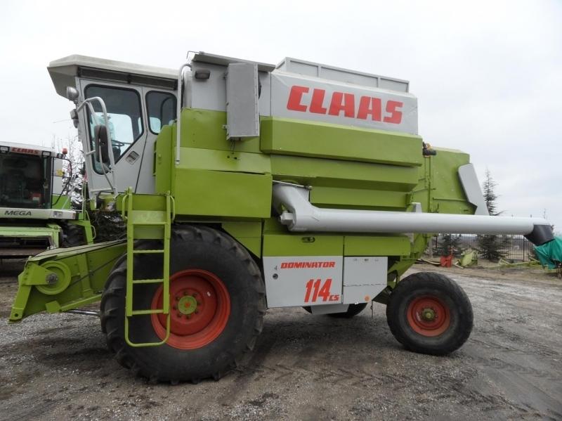 Комбайн Claas Dominator 114