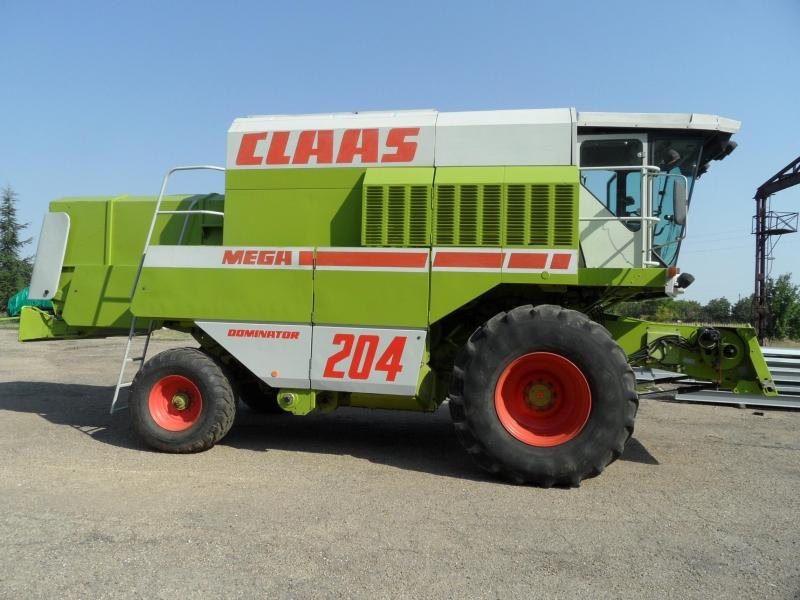 Комбайн Claas Mega 204 4х4
