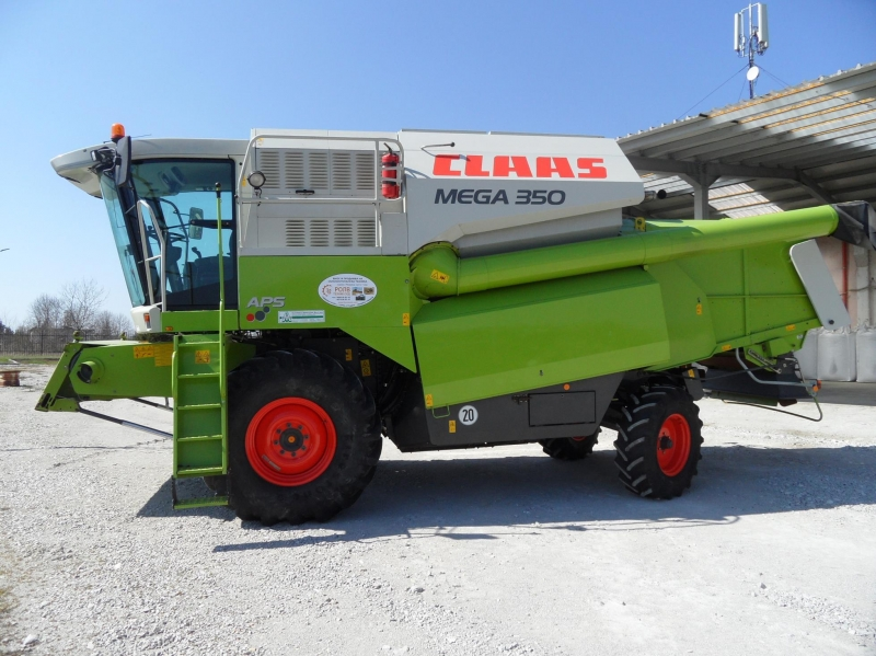 Комбайн Claas Mega 350